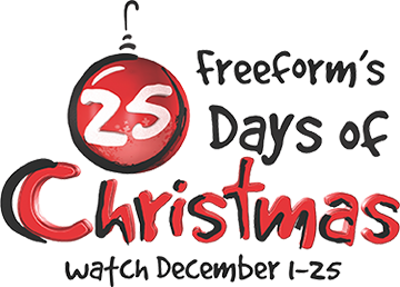 25 Days Of Christmas and Freeform Logos