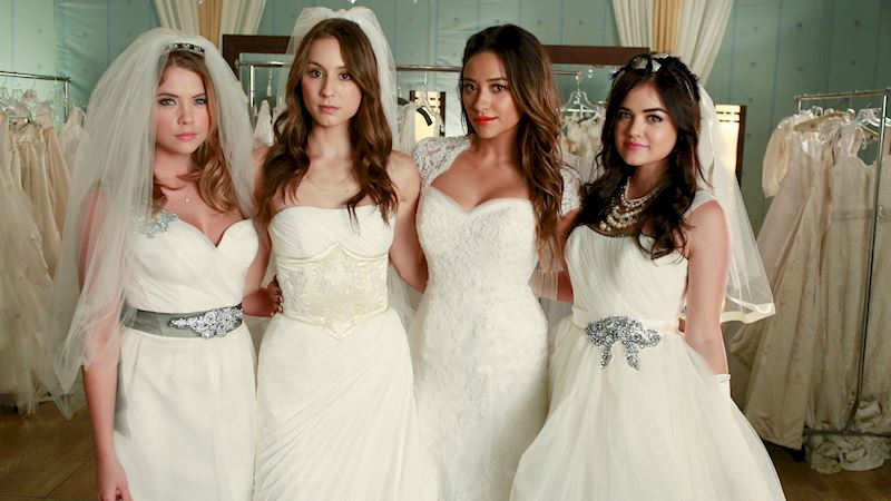 Pretty Little Liars - What Was Your Favorite Wedding Dress From Unbridled?  - Thumb