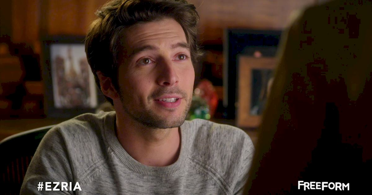 Pretty Little Liars - Missing Ezria? Check Out This Heart-Wrenching Video!  - 1005