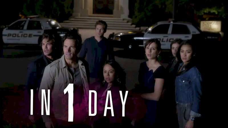 Pretty Little Liars - 1 Day Until We Find Out What Team #SaveHanna Are Doing Outside The Church! - Thumb