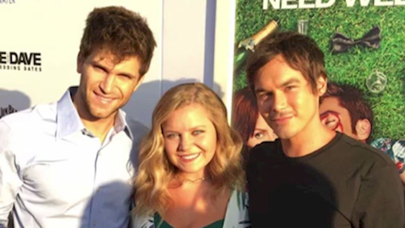 Pretty Little Liars - OMG! Keegan and Tyler Hit Up The Premiere Of Mike And Dave Need Wedding Dates! - Thumb