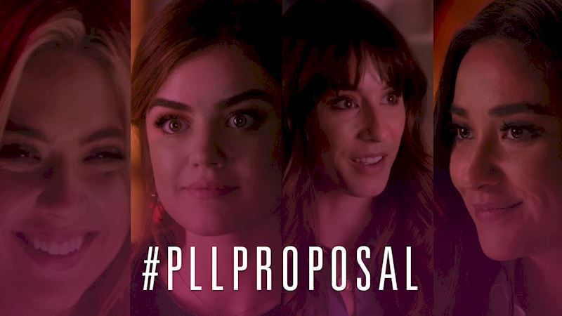 Pretty Little Liars - Ready To Find Out Who Pops The Question?! Check Out This Brand New Promo! - Thumb