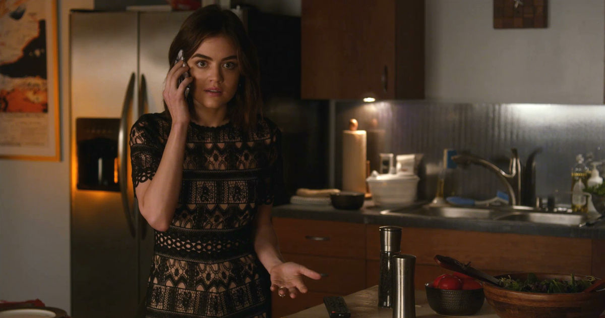 Pretty Little Liars - WOW! Did Ezra Seriously Just Do That To Aria?!  - 1004