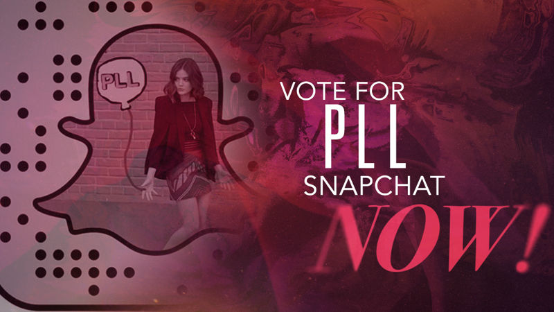 Pretty Little Liars - Love PLL Snapchat? Vote For Us To Win A Ghosties Snapchat Award Now! - Thumb