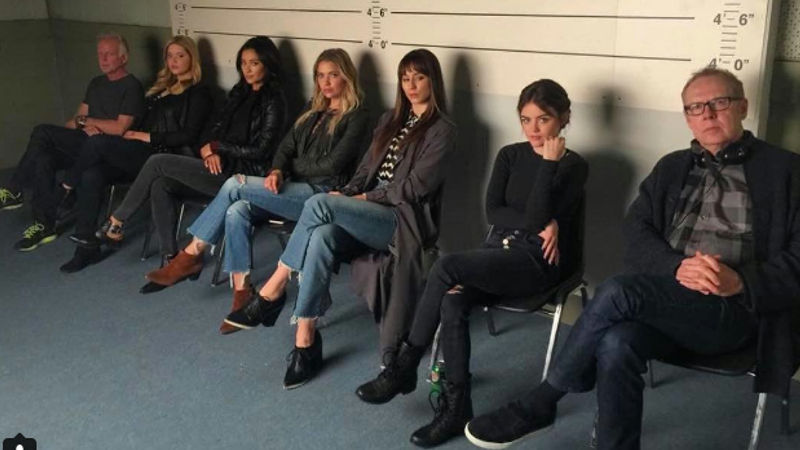 Pretty Little Liars - The PLL Cast Got Together For One Of Their Last Readings And We Just Can't Handle It! - Thumb