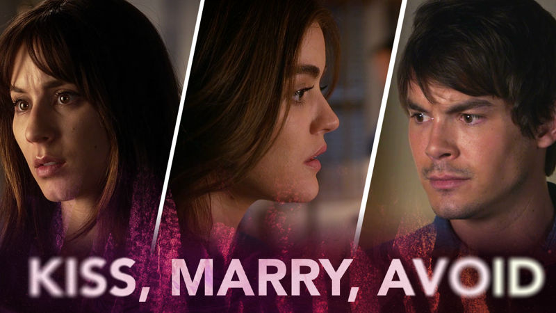 Pretty Little Liars - Are You Ready To Play The Toughest Game Of 'Kiss, Marry, Avoid' EVER?! - Thumb