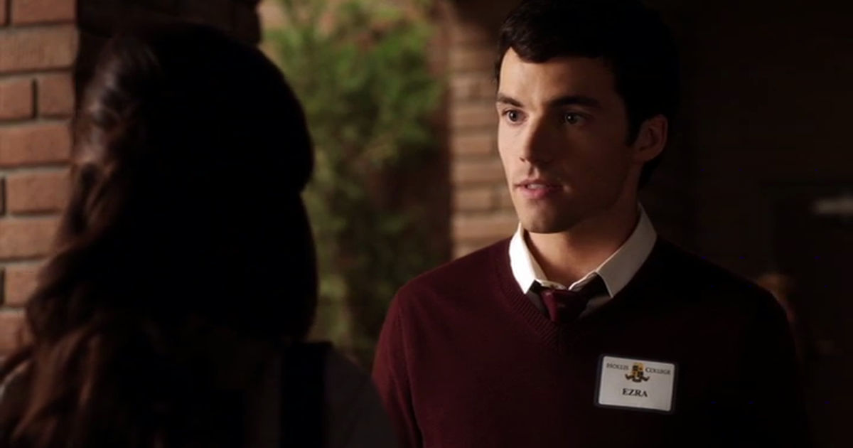 Pretty Little Liars - Nicole Wasn't The Only Ex Of Ezra's To Threaten His Relationship With Aria... - 1007