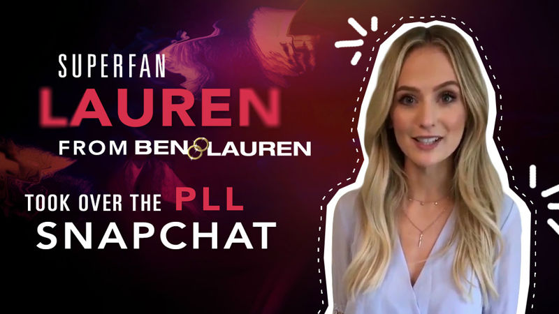 Pretty Little Liars - Lauren Bushnell Took Over The PLL Snapchat As She Conquered The World Of Renovation! - Thumb
