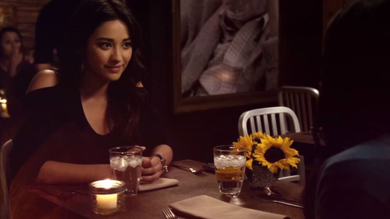 Pretty Little Liars - Check Out Emily And Maya's Reunion Dinner Right Here!  - Thumb