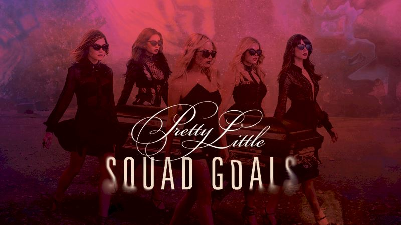 Pretty Little Liars - Who's In Your Pretty Little Squad? Find Out Now! - Thumb