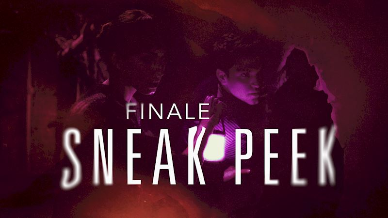 Pretty Little Liars - Exclusive Finale Video: Someone's Hot On Spoby's Heels...But Who?! - Thumb