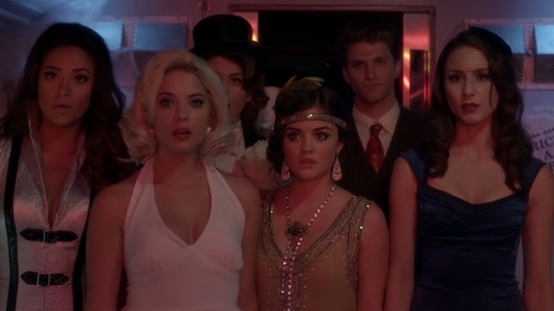 Pretty Little Liars - Which Liar Had The Best Halloween Costume In Episode 60? Vote For Your Fave! - Thumb