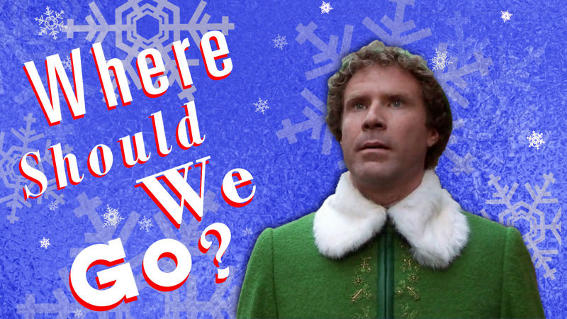 25 Days of Christmas - Can We Guess What Your Perfect Christmas Vacation Destination Would Be? - Up Next Thumb