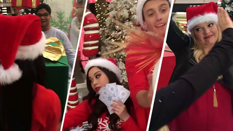 25 Days of Christmas - This Festive Mannequin Challenge Will Blow Your Mind! - Thumb
