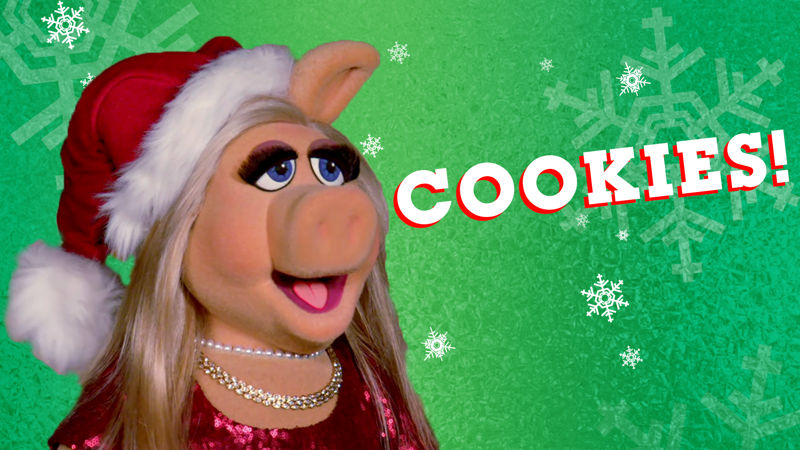 25 Days of Christmas - Watch How 'Santa Piggy' Reacts When She Spots Some Christmas Cookies! - Thumb