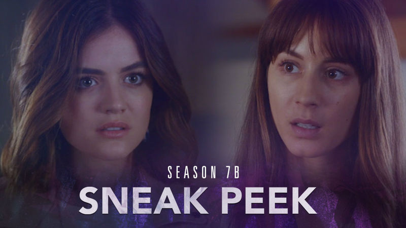 Pretty Little Liars - THE FIRST SNEAK PEEK FROM SEASON 7B IS OUT AND IT'S BLOWING OUR MINDS!  - Thumb