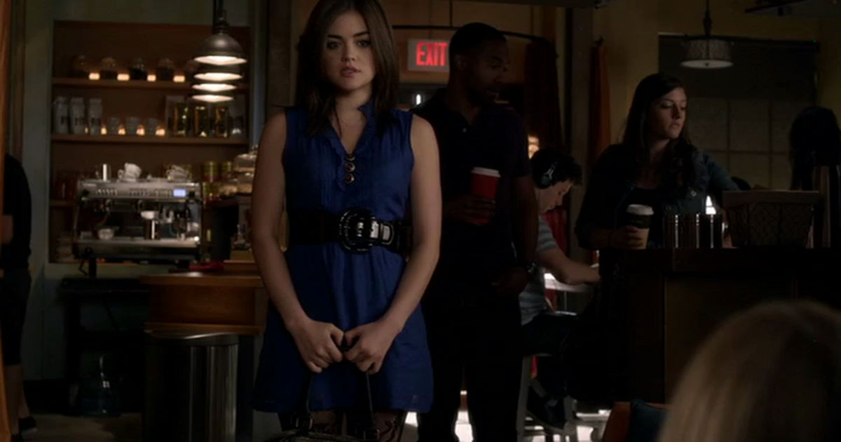 Pretty Little Liars - Countdown Aria's Most Quirky Outfits From Episode 49 With Us! - 1002