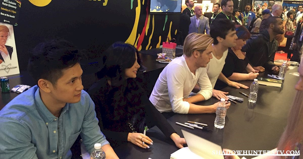 Shadowhunters - Saturday Live Blog: Shadowhunters at New York Comic Con - 961