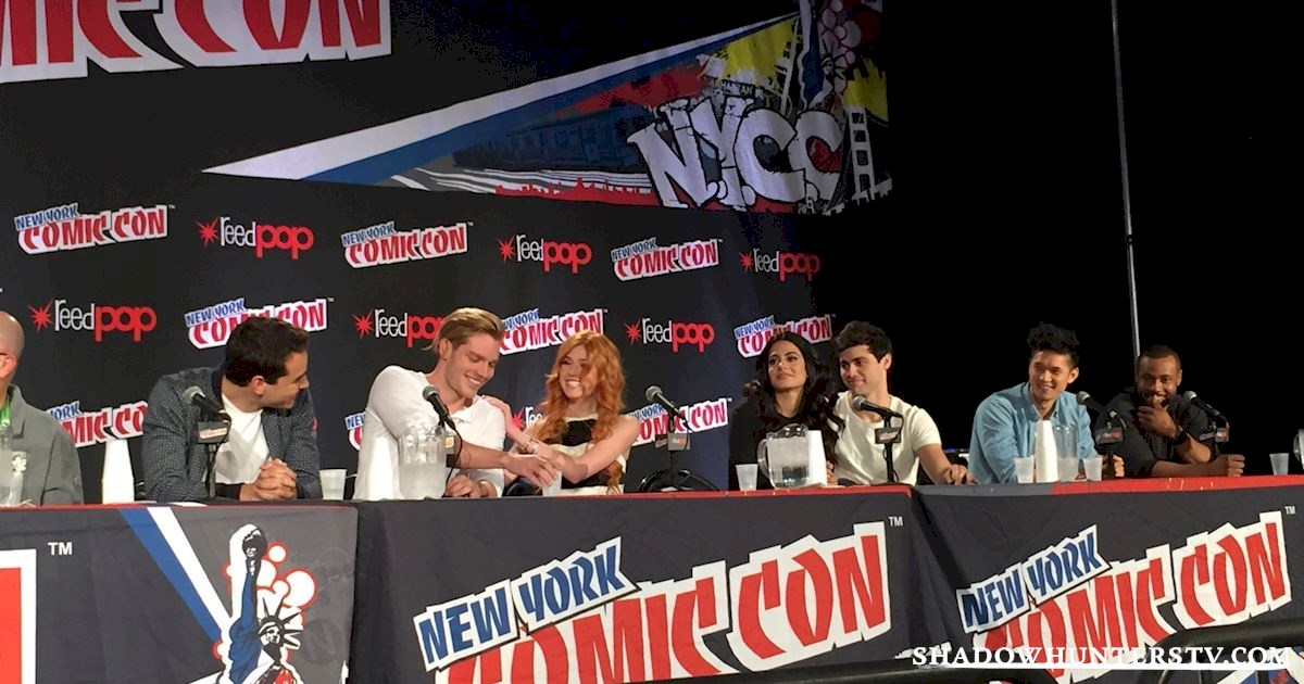 Shadowhunters - Shadowhunters Q&A At New York Comic Con - 1957