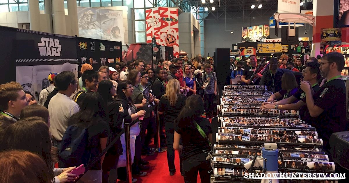 Shadowhunters - Saturday Live Blog: Shadowhunters at New York Comic Con - 957