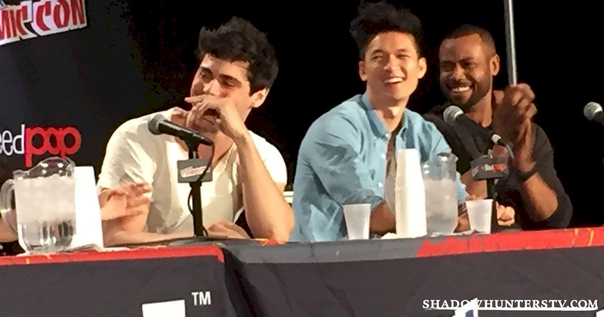 Shadowhunters - Shadowhunters Q&A At New York Comic Con - 1982