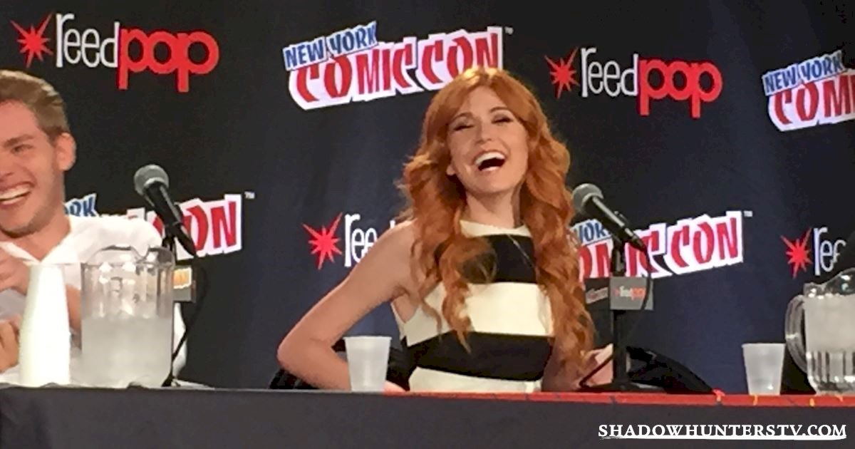 Shadowhunters - Shadowhunters Q&A At New York Comic Con - 1955