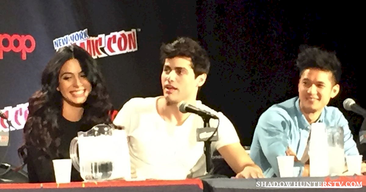 Shadowhunters - Shadowhunters Q&A At New York Comic Con - 1971