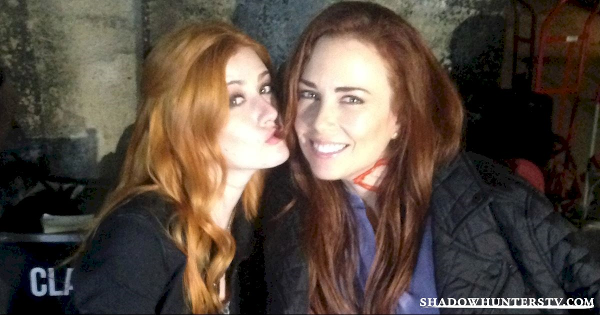 Shadowhunters - [EXCLUSIVE PHOTOS] Shadowhunters On Camera and Off  - 1006