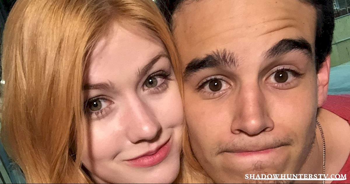 Shadowhunters - [EXCLUSIVE PHOTOS] Shadowhunters On Camera and Off  - 1002