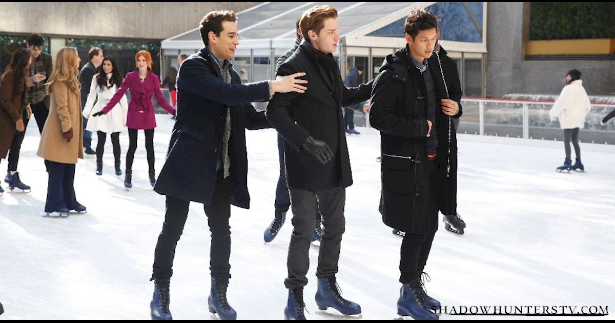 Shadowhunters - [EXCLUSIVE PHOTOS] Shadowhunters on Ice - 1005