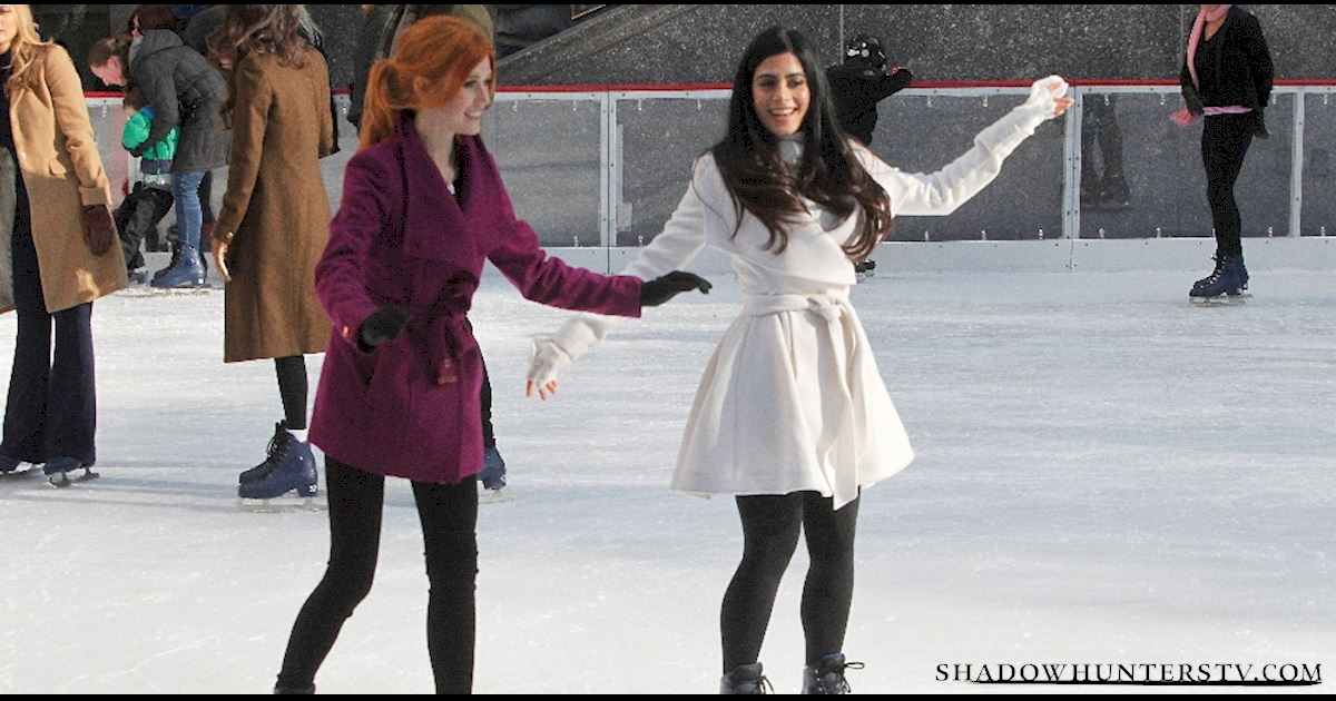 Shadowhunters - [EXCLUSIVE PHOTOS] Shadowhunters on Ice - 1010