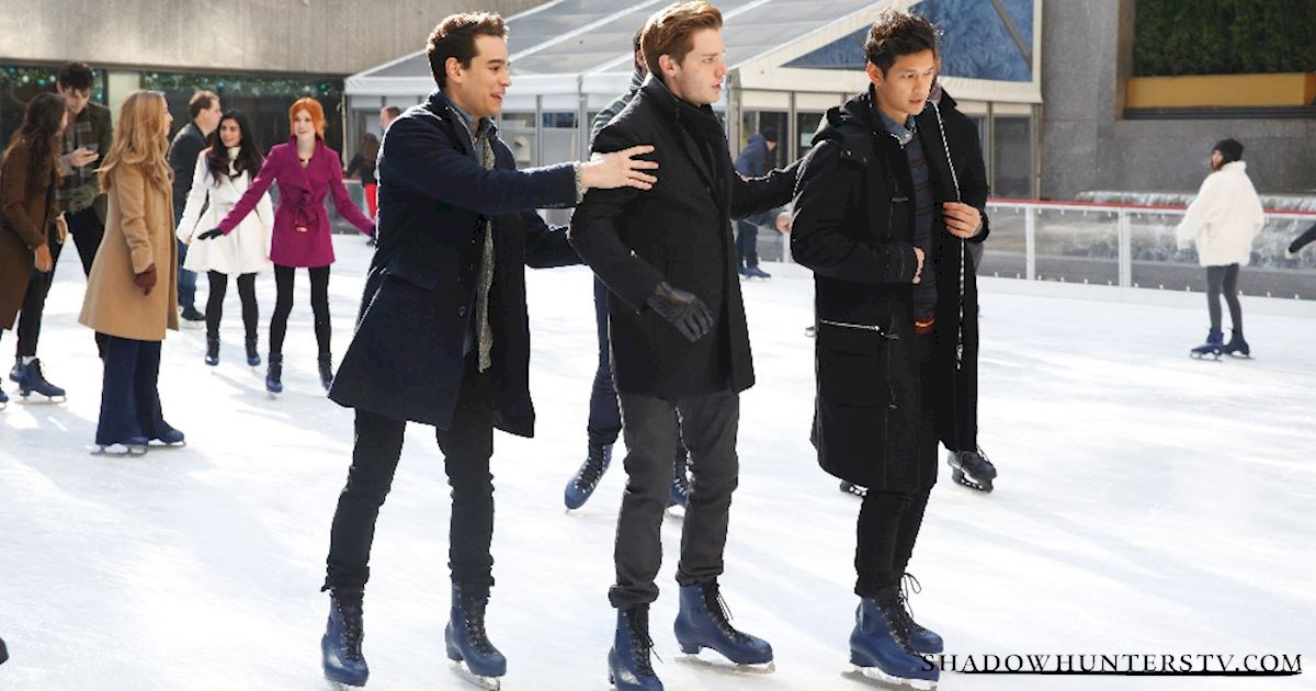 Shadowhunters - Caption This: Snow Angels - 1001