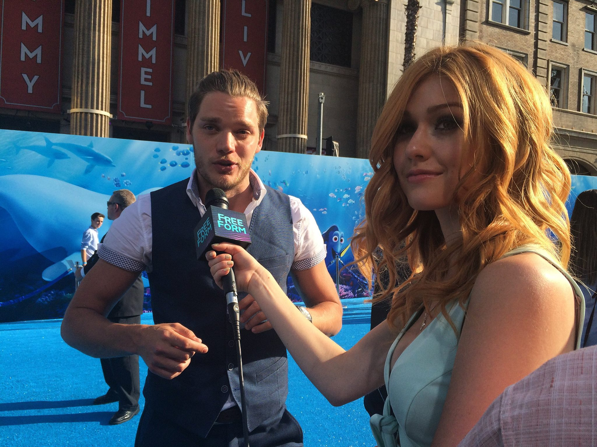 "Shadowhunters - Katherine McNamara Was Working The ""Blue"" Carpet At The Finding Dory Premiere! - 1005"