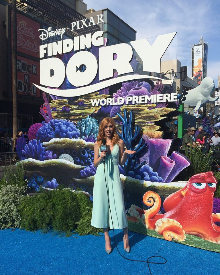 "Shadowhunters - Katherine McNamara Was Working The ""Blue"" Carpet At The Finding Dory Premiere! - 1011"
