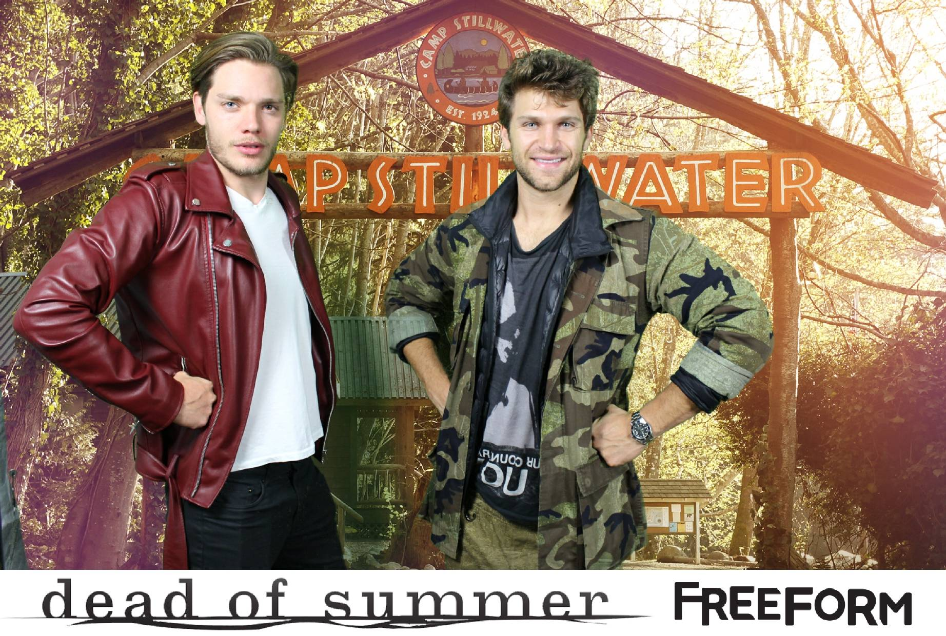 Shadowhunters - Dominic Sherwood And Keegan Allen's Horror Camp Out! - 1001