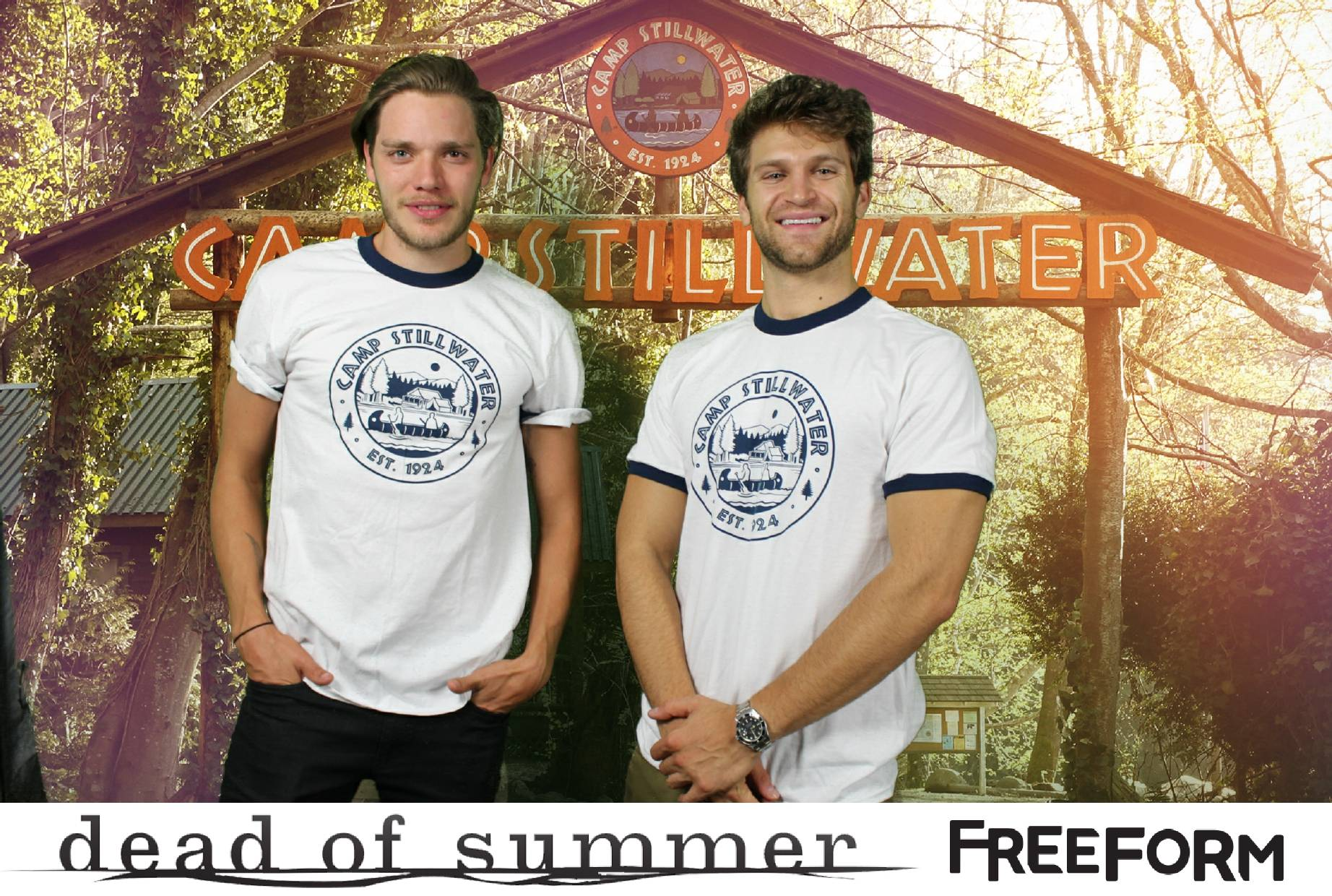 Shadowhunters - Dominic Sherwood And Keegan Allen's Horror Camp Out! - 1002