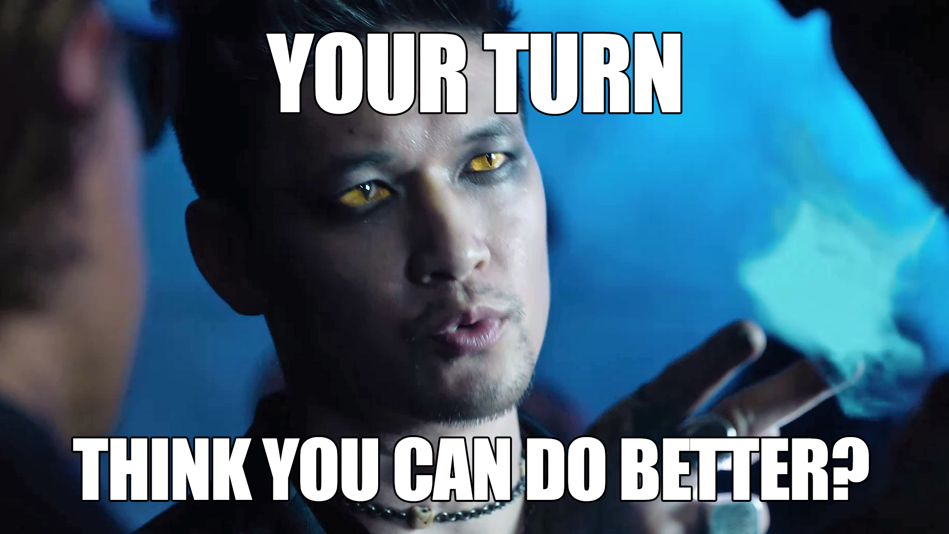 Shadowhunters - CHALLENGE TIME: We Want You To Meme Magnus Like He's Never Been Memed Before! - 1008