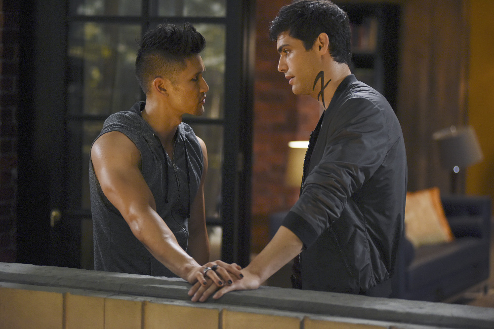 Image result for Magnus bane shirtless