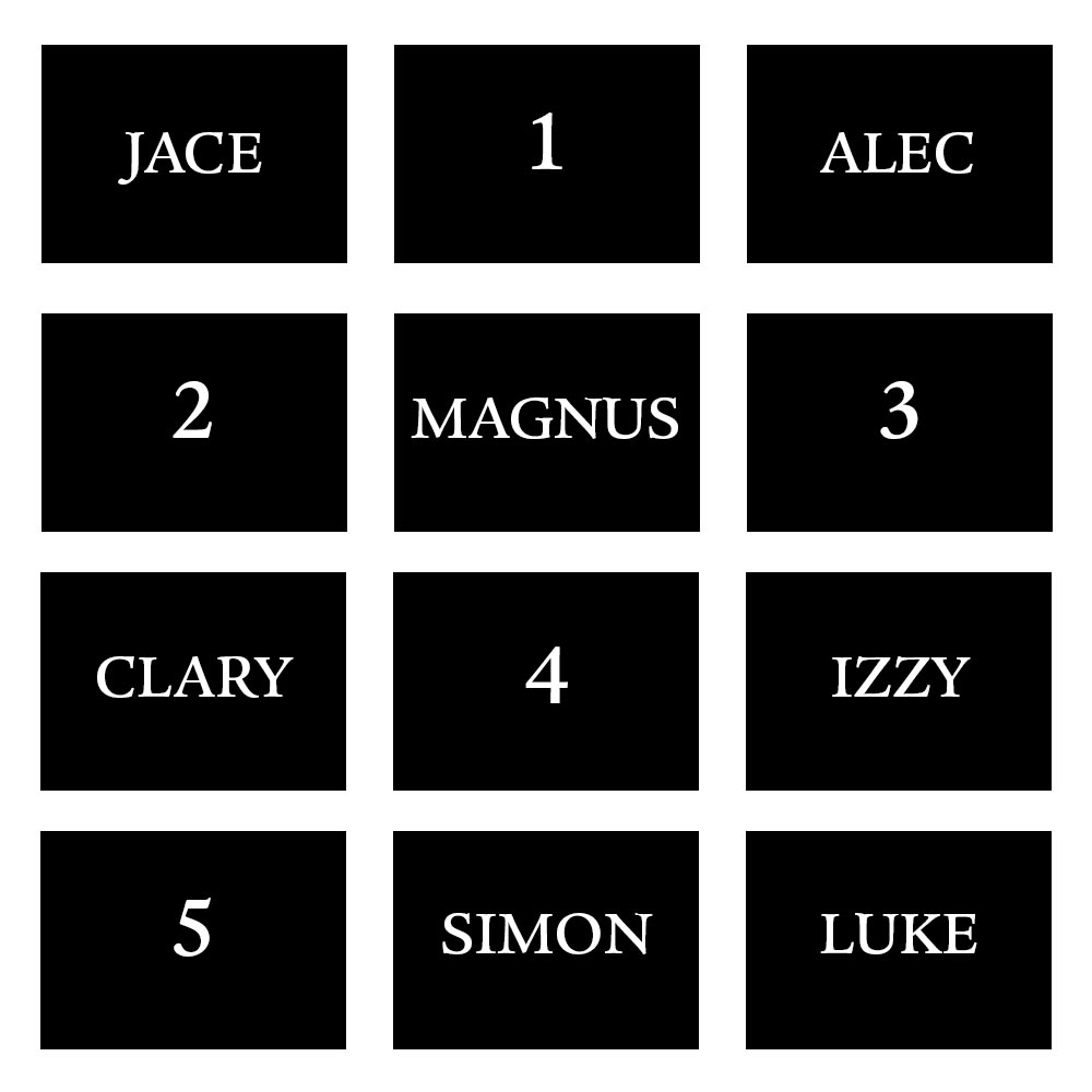 Shadowhunters - Who Would You Fight Beside In A Shadowhunters Battle? - 1001