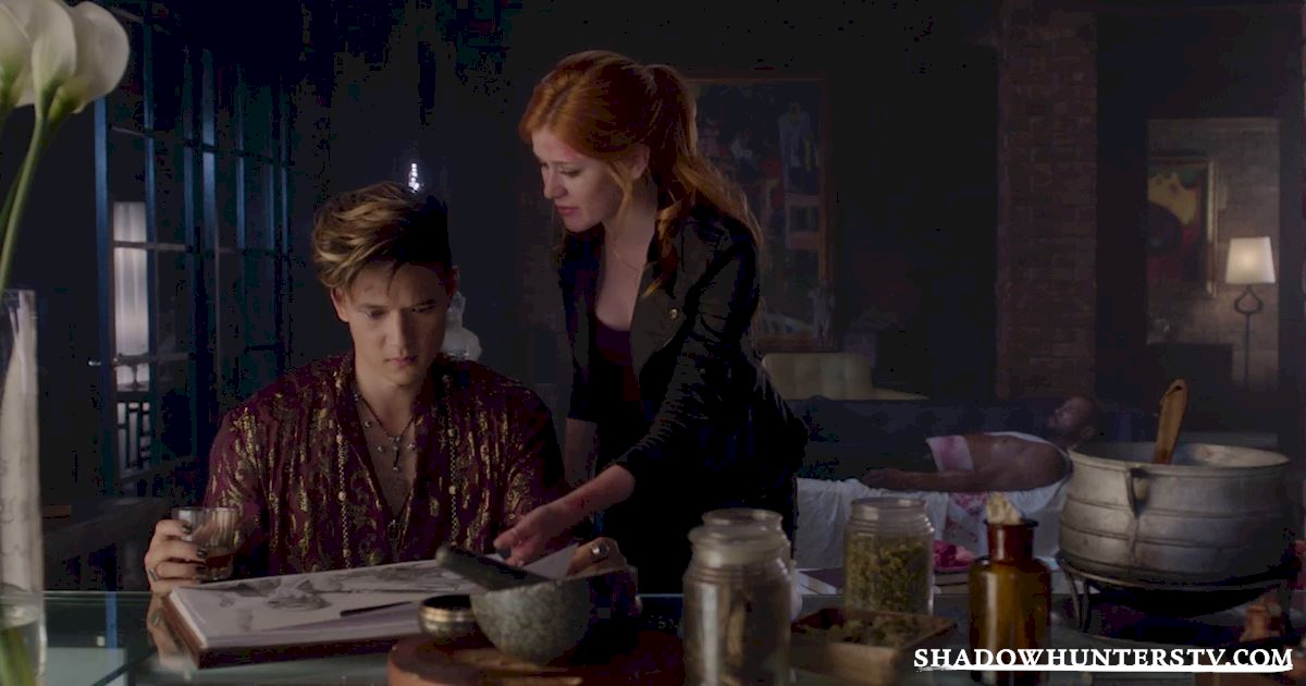 "Shadowhunters - Episode 106: ""Of Men and Angels"" Official Recap - 1010"