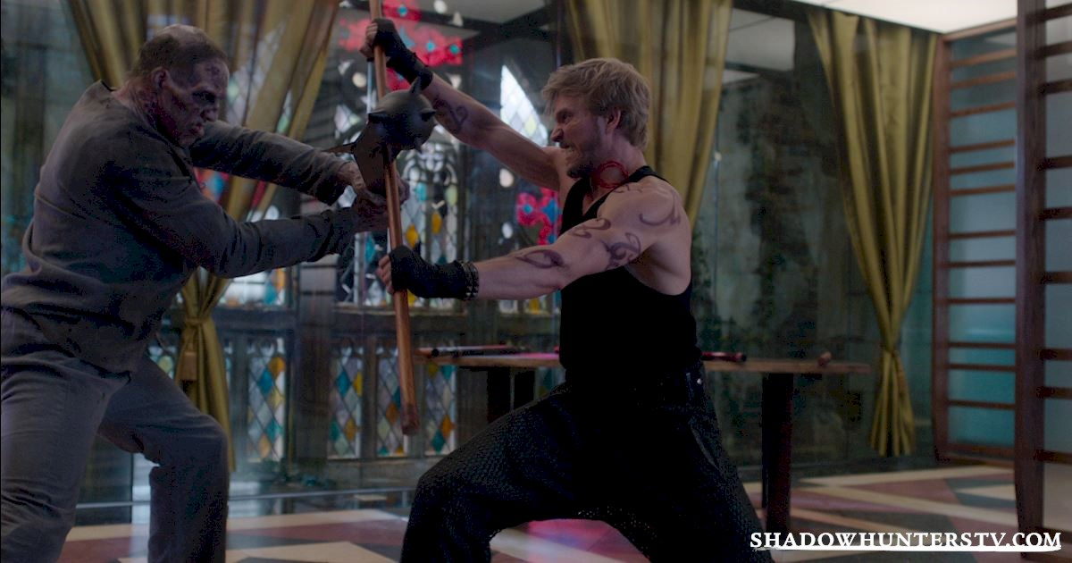 "Shadowhunters - Episode 108: ""Bad Blood"" Official Recap! - 1018"