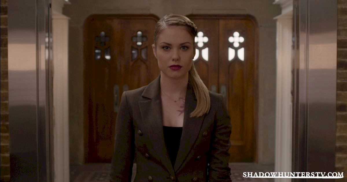 Shadowhunters - Episode 9: So What's The Deal With Lydia Branwell? - 1001
