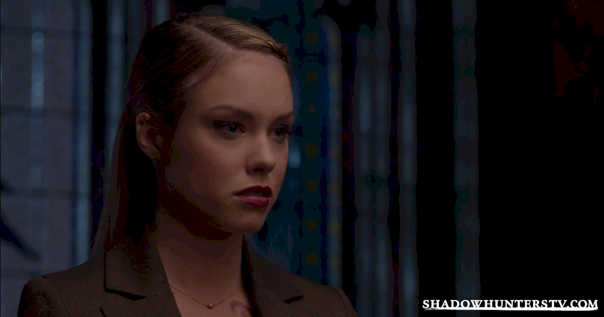 Shadowhunters - Episode 9: So What's The Deal With Lydia Branwell? - 1005