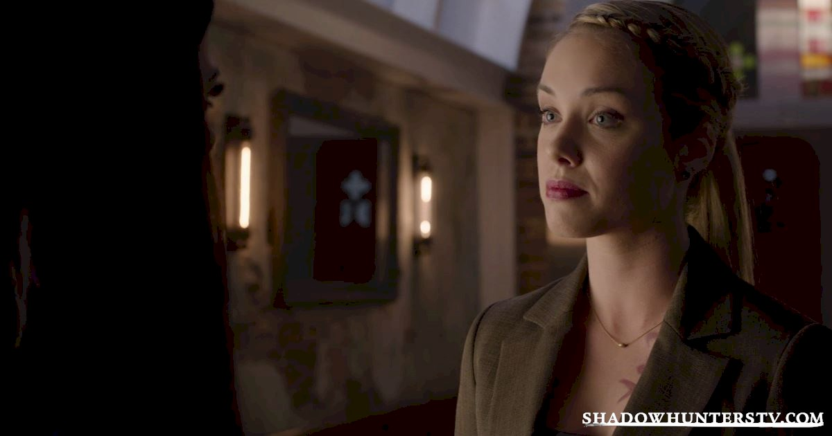 Shadowhunters - Episode 9: So What's The Deal With Lydia Branwell? - 1002