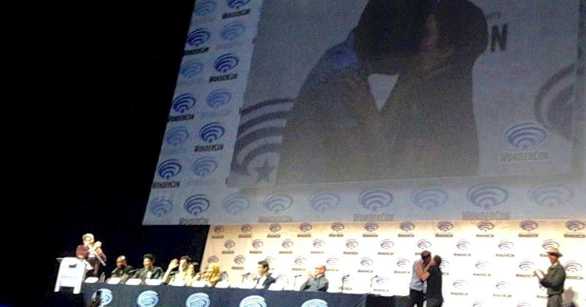 Shadowhunters - Live Updates! The Shadowhunters Cast at WonderCon! - 991