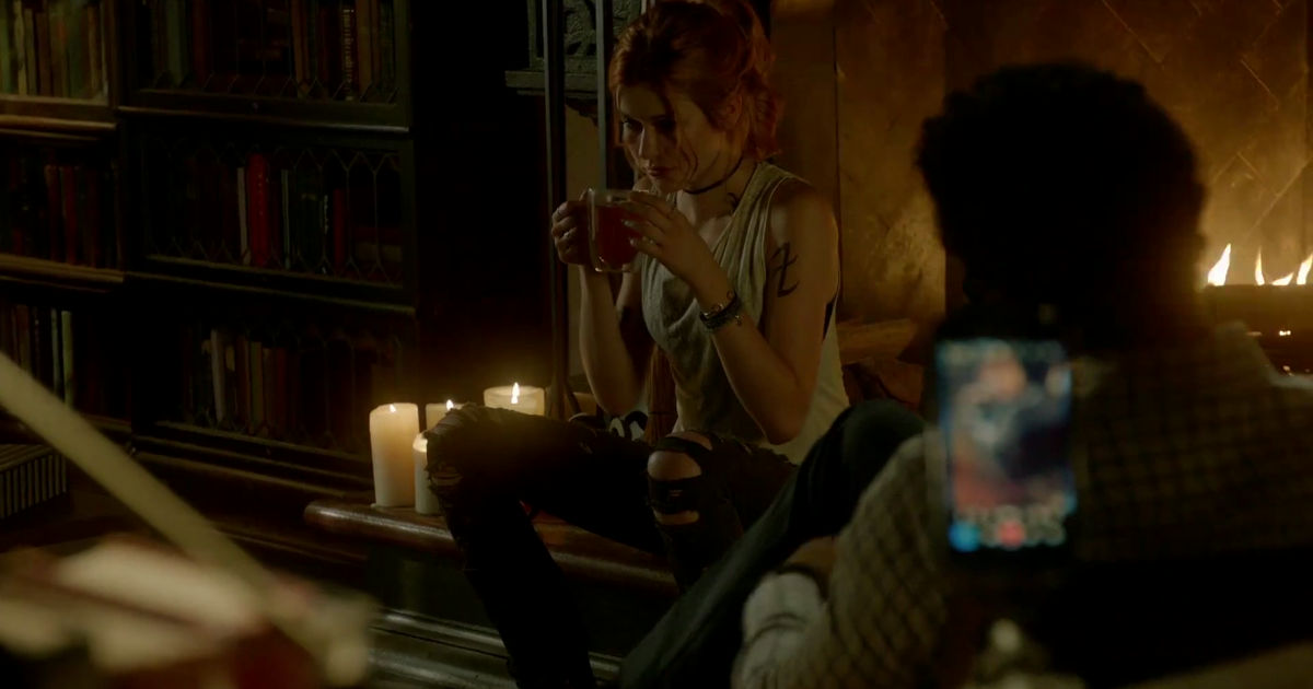 Shadowhunters - Clary Is Back At The Insitute, But Where Is Jace? Watch This Episode 203 Sneak Peek! - 1002