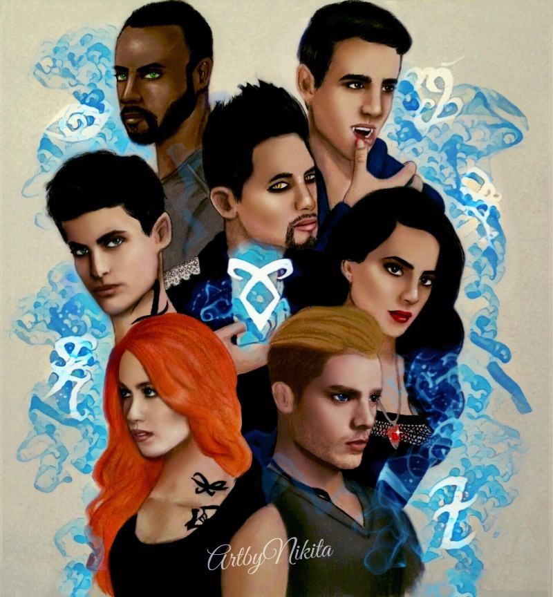 Shadowhunters - Announcing The Winner Of The Shadowhunters Fan Art Competition! - 1002